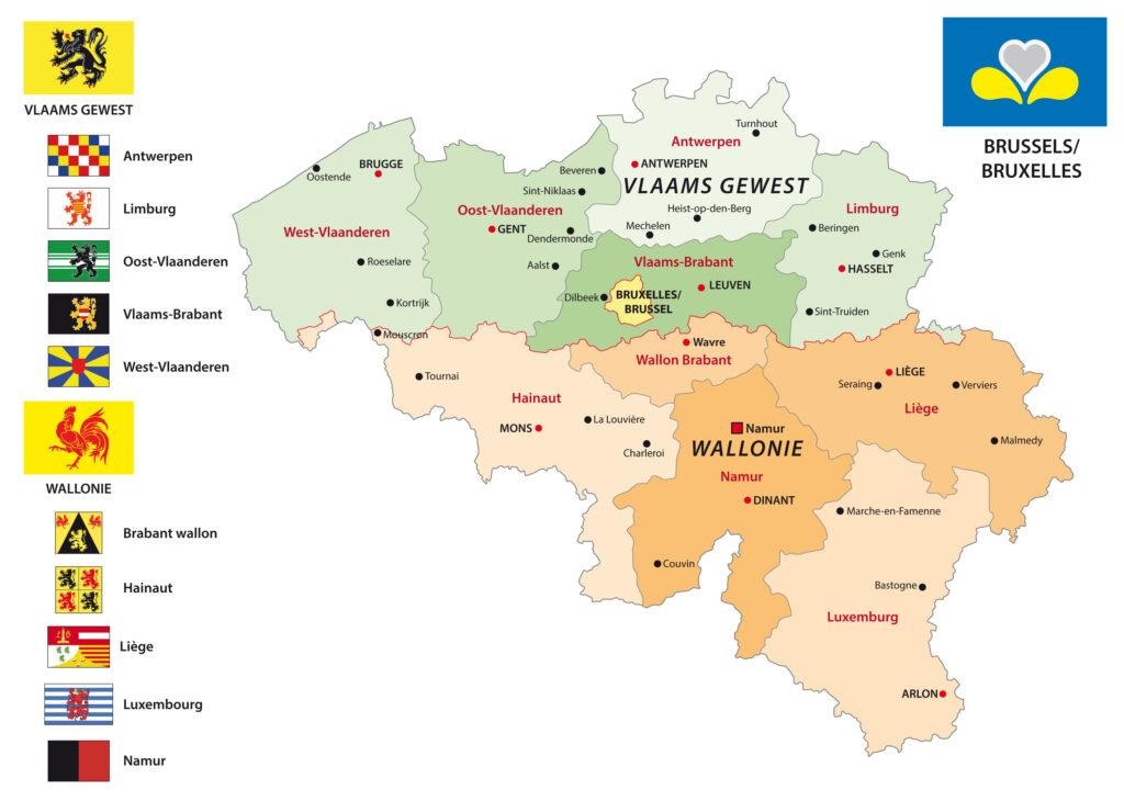 Tour delle Fiandre Gluten Free 8 giorni e 7 notti in 40 luoghi