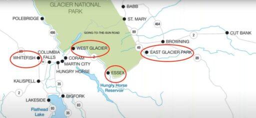 Stati Uniti Senza Glutine Tour in treno da Est ad Ovest: Glacier National Park