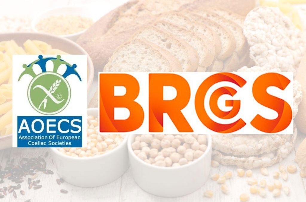 Storico accordo Gluten Free AOECS – BRCGS